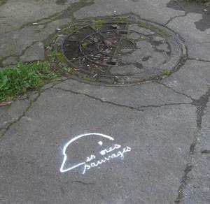 signe à terre