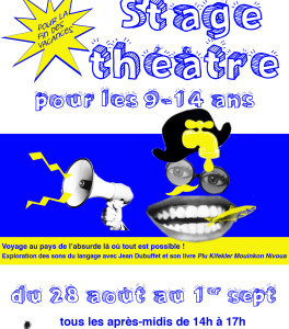 affiche stageenfants2017